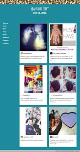 how to add instagram hashtag feed to your wedding website