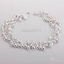 charm bracelet charms sterling silver images Silver bracelet women 39 s 925 sterling silver grape cluster charm jpg