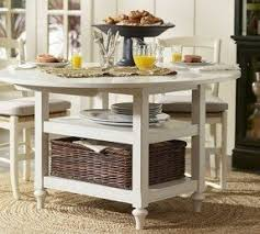 Drop Leaf Work Table Foter - Kitchen table with drawer