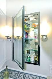 Bathroom Mirror Medicine Cabinet With Lights Mirror Medicine Cabinet With Light Upandstunning Club