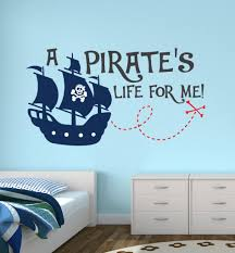 pirate life for me lovely quotes wall sticker custom boys name pirate life for me lovely quotes wall sticker custom boys name personalized wall sticker kids nursery