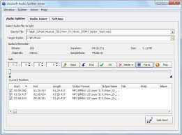 mp3 audio joiner free download full version auvisoft audio splitter joiner software free download