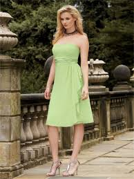 lovely lime green bridesmaid dresses