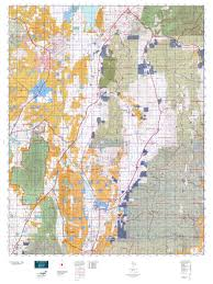 Topographic Map Of Utah by 16a Central Mtns Nebo Map Mytopo