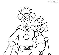 Coloriage de Roi et reine pour Colorier  Coloritoucom