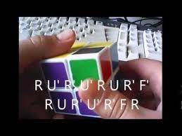 how to make a cube in a cube pattern on a 2x2x2 youtube