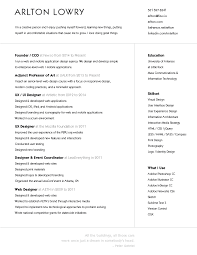 Photo On A Resume 12 Beautifully Simple Resume Designs You U0027ll Want To Steal
