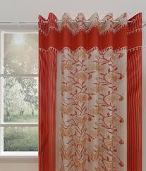 cheap window curtains online india hometex polyester dark brown