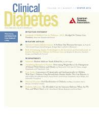 standards of medical care in diabetes u20142016 abridged for primary