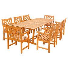cambridge legacy 9 piece patio outdoor dining set legacy9pc tn