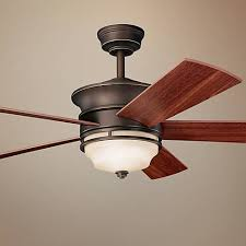 kichler ceiling fans with lights miraculous kichler ceiling fans 52 hendrik olde bronze fan 41159