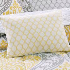 Yellow And Gray Crib Bedding Set Grey Yellow And Blue Bedding Gray Baby Stock Photos Hd