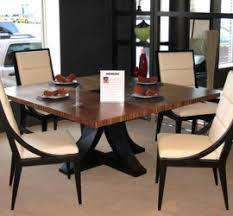 Dining Table For 4 Awesome Square Dining Table Granite Top Grey Fabric Upholstered