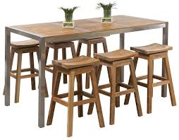 High Table Patio Furniture Outdoor Bar Sets Teak Bar Set Westrock Table Segals Outdoor