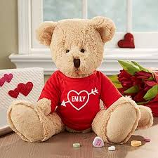 teddy valentines day personalized s day teddy my