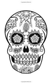 sugar skull pattern uh oh my mind u0027s going crazy with ideas