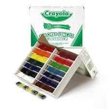 crayola colored pencils classpack 462 assorted colors walmart com