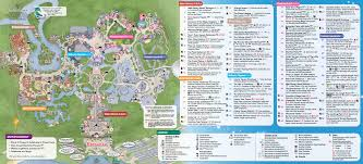 Florida Spring Training Map by 2014 Walt Disney World Park Maps With Fastpass Photo 4 Of 8