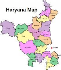 Gurgaon India Map by Map Of Haryana Haryana Map