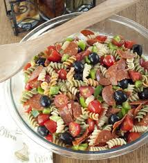 salad pasta classic italian pasta salad wishes and dishes