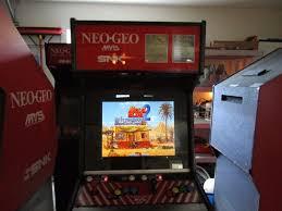 Neo Geo Arcade Cabinet Neo Geo Stand Up Arcade Machine Ebay