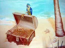 piratenzimmer wandgestaltung kinderzimmer malereien mit wunschmotiven für ihre kleinen und großen