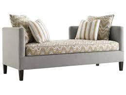 Threshold Settee Bench by Lexington Lexington Upholstery Sebastian Settee Becker Furniture