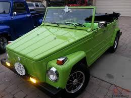 vw kubelwagen for sale thing headturner completley restored lamborghini green paint job