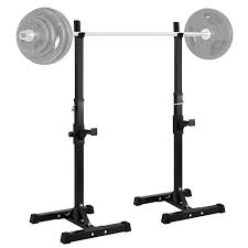 amazon com ollieroo barbell rack 2pcs gym family fitness