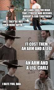 Tyreese Walking Dead Meme - coral walking dead memes rick dick grimes coral meme collection
