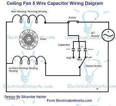 4 wire fan switch 3 speed fan switch 4 wires diagram elegant 5 wire ceiling fan