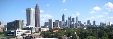Map Of Midtown Atlanta by Google Map Of The City Of Atlanta Georgia Usa Nations Online