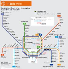 T Subway Map by Comet And Nova News Oslo Metro Joins Nova Comet And Nova Metro
