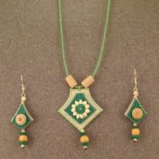 jute earrings jute jewellery set view specifications details of jute