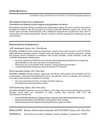 examples of administrative assistant resumes efficiencyexperts us