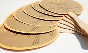 kraft paper wedding programs wedding stationery decor using kraft paper etsy weddings fan programs