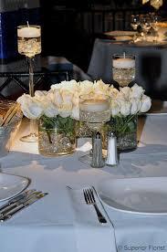 White Roses Centerpiece by 28 Best Wedding Dinner Centerpieces Images On Pinterest Wedding
