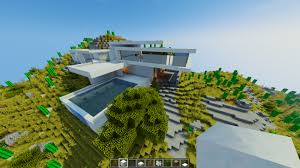 Home Design Video Download Modern Mountain House 2 Minecraft Building Ideas Home Easy