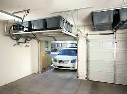 Shed Overhead Door Storage Above Garage Door Above Garage Door Storage Racks Storage