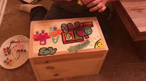 Build A Simple Toy Chest by Diy How To Build A Homemade Toy Box Youtube