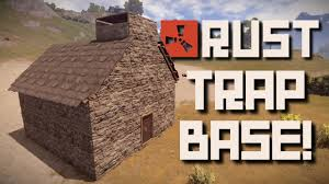 Home Design Game Tips And Tricks Rust Tips U0027n Tricks How To Build A Trap Base Youtube