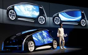toyota motors japan tokyo toyota unveils high tech concept car ahead of show