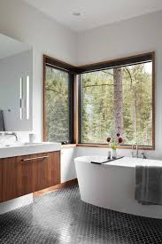 sophisticated design mountain modular home has sophisticated design with a sense of