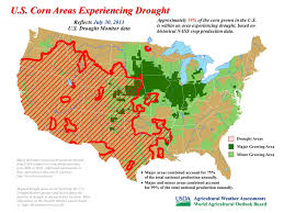 Illinois State University Map by August 2013 Drought And Impact Summary