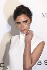 Victoria Beckham Wedding Ring by Victoria Beckham Leads The Way In White High Necked Cut Out Detail