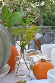 fall table setting using what you have nesting with grace