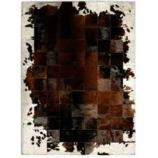 Cowhide Home Decor by Cowhide Rug Brown Brown And White Cowhide Home Decor Rugs