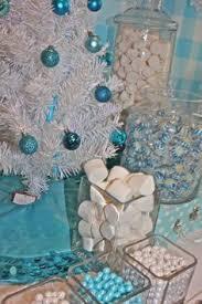 Winter Wonderland Centerpieces by This Winter Wonderland White Chocolate Popcorn Speckled With Candy