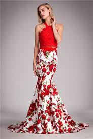 2016 romantic design red rose wedding dresses flat shoulder