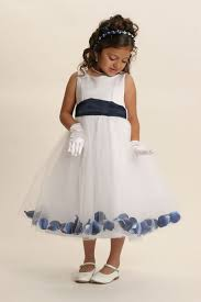 152wnv flower dress style 152 choice of white or ivory